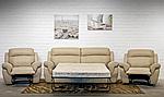 Комплект мебели Соренто с механическим реклайнером (диван тройка + два кресла), фото 2