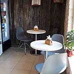 Опора для стола Тахо нержавейка, h72 см, d45 см, фото 4