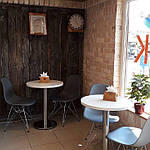 Опора для стола Тахо нержавейка, h72 см, d45 см, фото 5