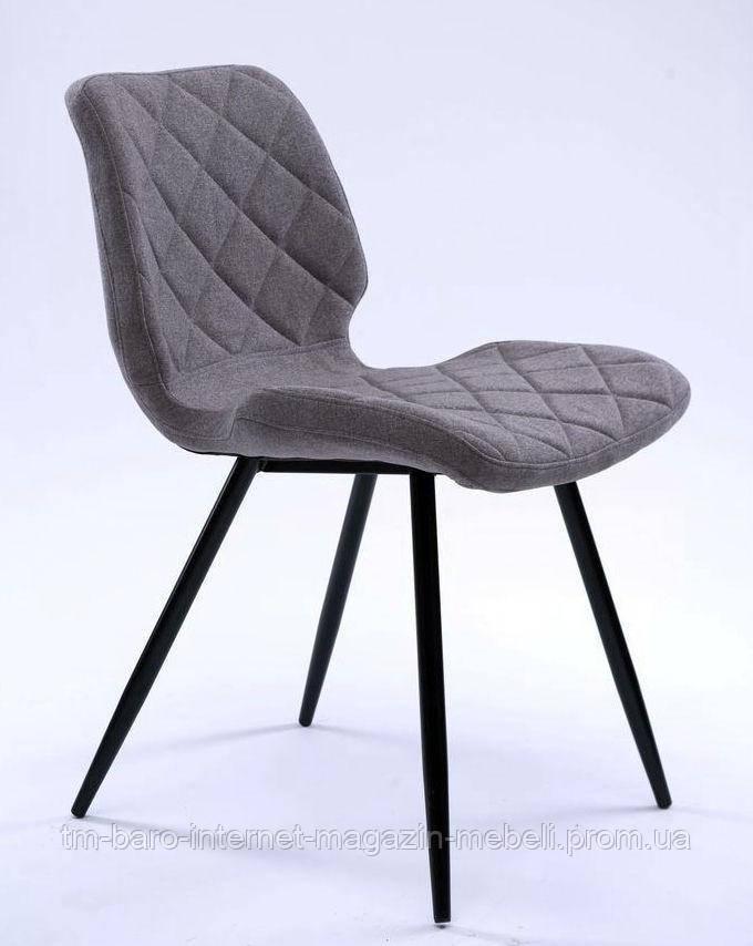 Стул Diamond (Даймонд), Concepto, текстиль серый