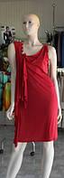 Красное  платье модерн