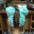 🍃 Мятный канекалон для плетния причёсок 🍃, фото 9