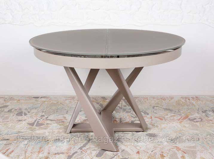 Стол обеденный EDINBURH (110/155*110*75) мокко, Nicolas