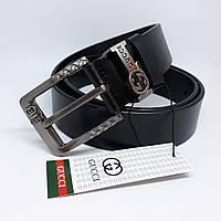 Мужской кожаный ремень чоловічий ремінь шкіряний Gucci Givenchy пояс 4e6db6c362ce1