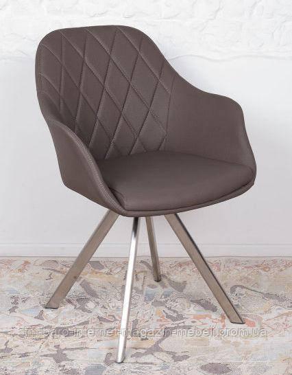 Кресло поворотное Almeria (Алмерия), мокко кожзам (Бесплатная доставка), Nicolas