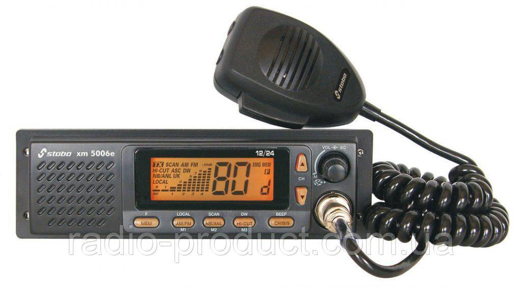 Радиостанция Си-Би Stabo xm 5006e-R 12/24 V