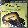 Струны для акустической гитары Fender 60XL 10-48