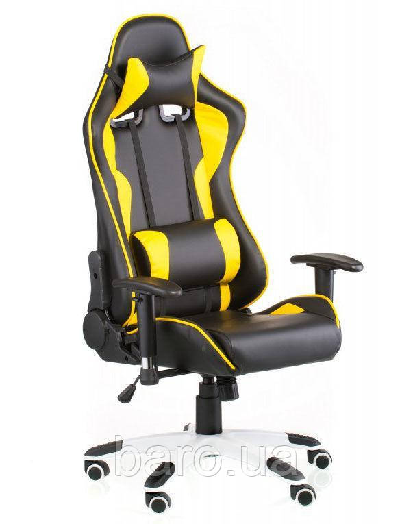 Кресло ExtremeRace black/yellow (E4756), Special4You