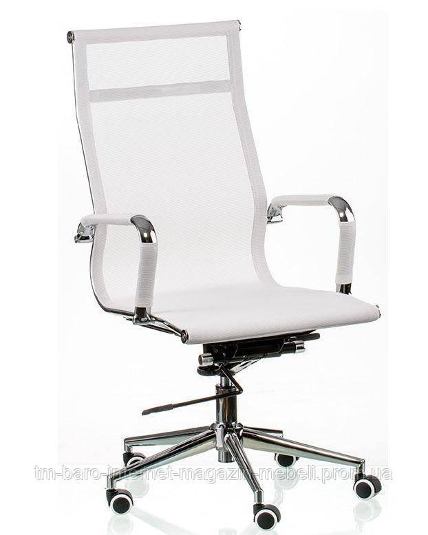 Кресло Solano (Солано) mesh white (E5265), Special4You (Бесплатная доставка)