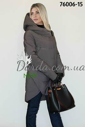 40-50 Модная женская куртка с капюшоном Gessica 76006 e4f31dee24133