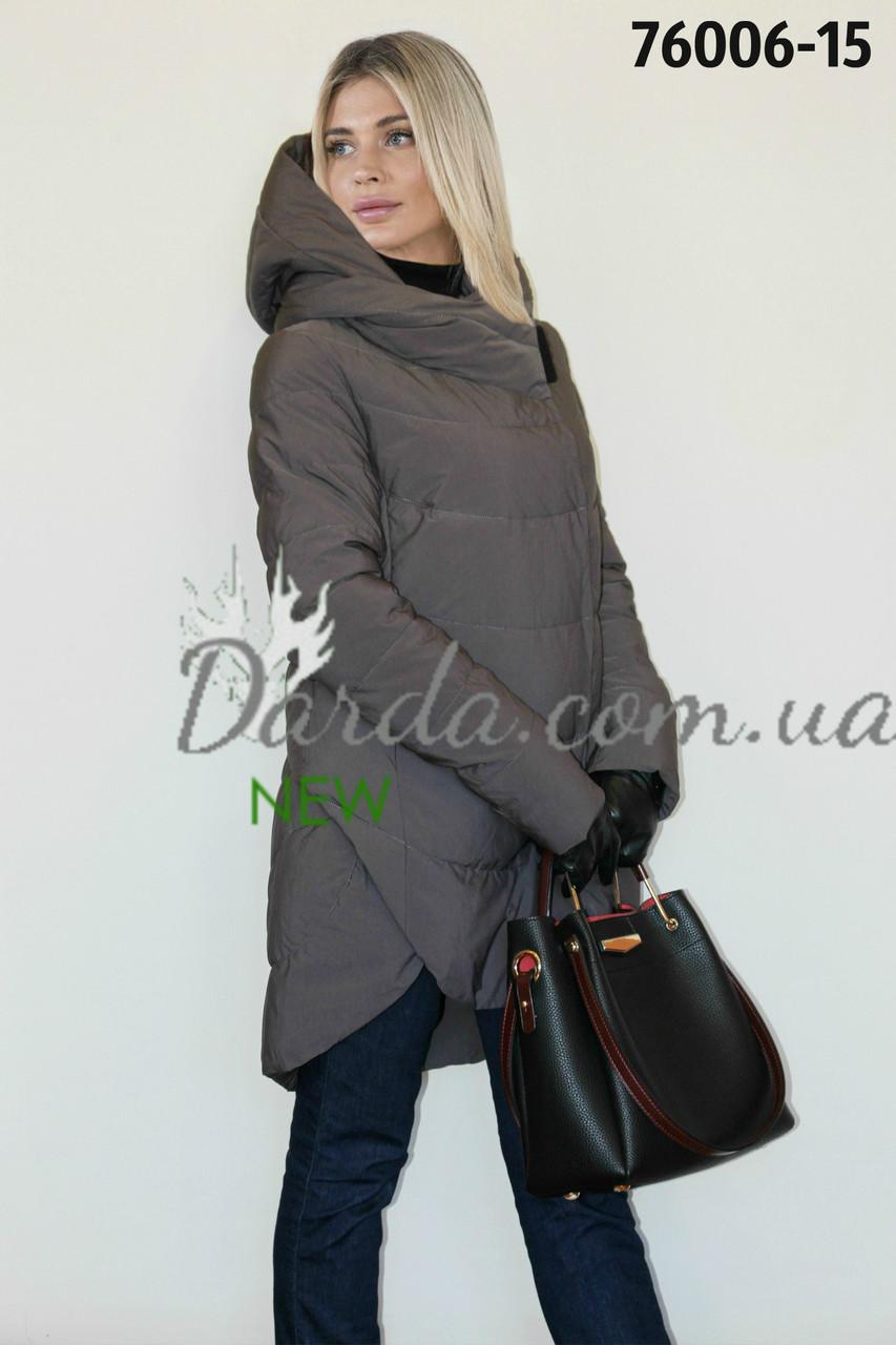 198b17e2 Модная женская куртка с капюшоном Gessica 76006 - Интернет-магазин  Darda-Prom.ua