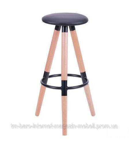 Барный стул Camry (Кэмри), черный PU