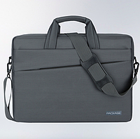78ffccc7f135 Сумка чехол Package для ноутбука 13 14 дюймов Водонепроницаемая ткань, Серый