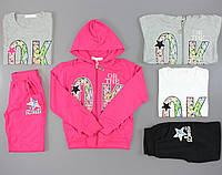 Трикотажный костюм-тройка для девочек Crossfire оптом, 116-146 pp., фото 1