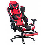 Кресло ExtremeRace black/red with footrest (E4947), Special4You, фото 3