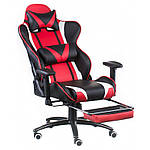 Кресло ExtremeRace black/red with footrest (E4947), Special4You, фото 5