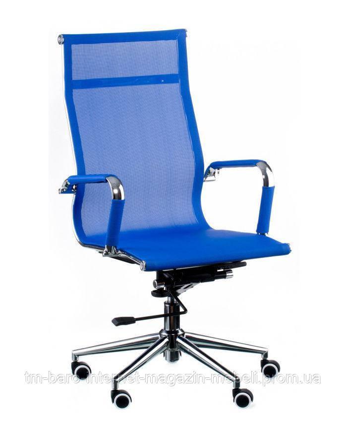 Кресло Solano (Солано) mesh blue (E4916), Special4You (Бесплатная доставка)
