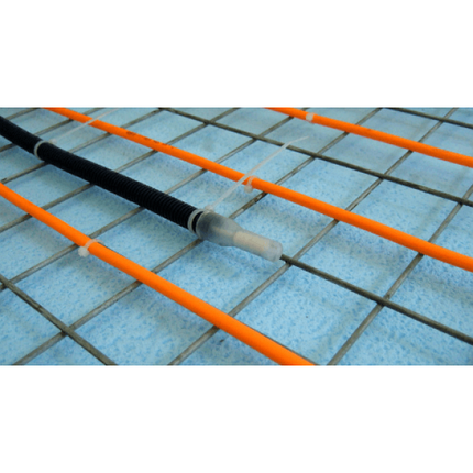 Нагревательный кабель WOKS-10, 4 кв.м, 600 Вт под плитку, фото 2