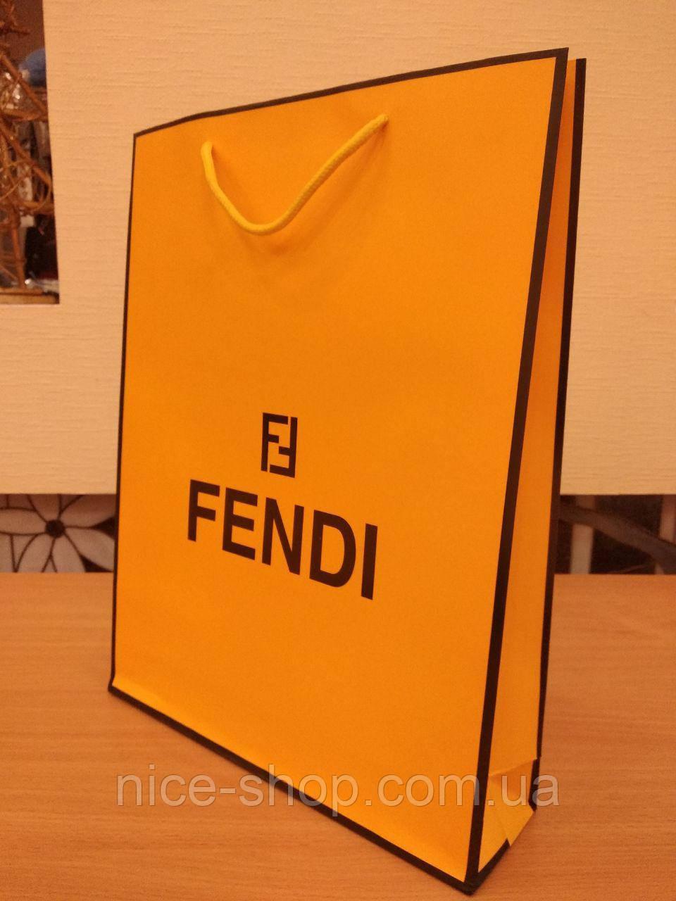 Подарочный пакет Fendi:вертикаль, mахi