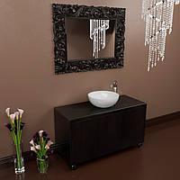 Тумба подвесная для ванной комнаты Marsan Penelope 1200 черная