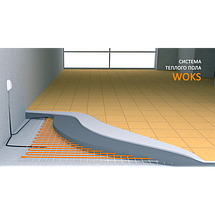 Кабель двужильный WOKS 17 - 3.6 кв.м, 590 Вт в стяжку, фото 3