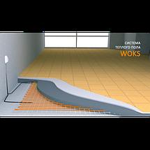 Кабель двужильный WOKS 17 - 7.3 кв.м, 1200 Вт в стяжку, фото 3