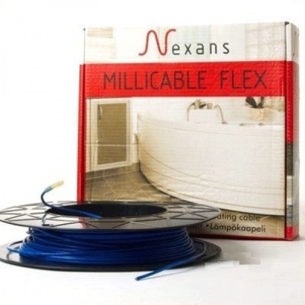 Нагревательный кабель Nexans 5 кв.м, 600 Вт под плитку