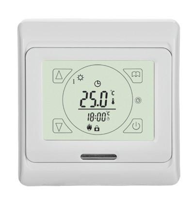 Терморегулятор сенсорный In-Therm E 91 для теплого пола программируемый