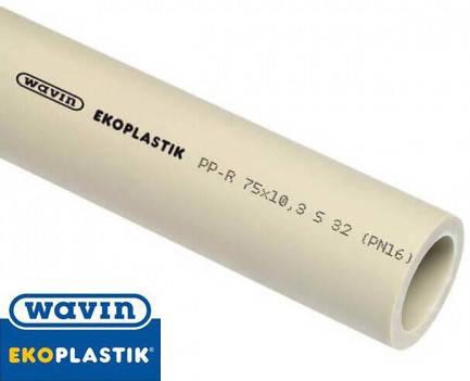 Труба полипропиленовая Wavin Ekoplastik PN16 40 мм, фото 2