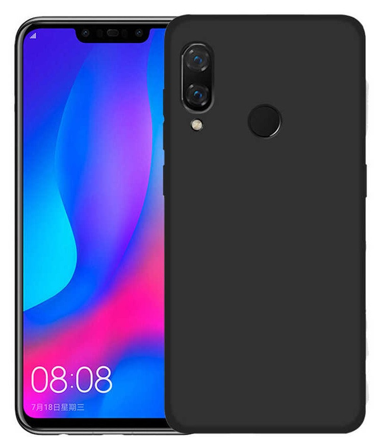 Силикон Huawei P20 Lite black Soft Touch