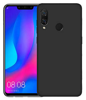 Силикон Huawei P20 Lite black Soft Touch, фото 2