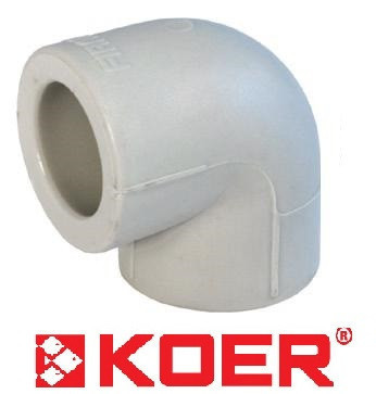 Угол 32х90 KOER полипропиленовый