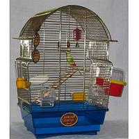 Золотая Клетка для попугаев ROSA DE Luxe. Размеры 47-25-55 см.