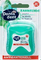 Антибактериальная зубная нить Dontodent Zahnseide Аntibakteriell, 100 м., фото 1