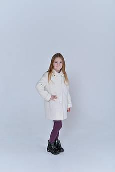 Пальто детское Татьяна Филатова  модель 224  белое