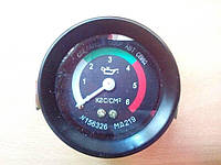 Указатель давления масла МТЗ, механический 6атм (МД-219)
