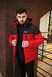 Куртка мужская зимняя красная jacket Intruder lightning 2 цвета, фото 3