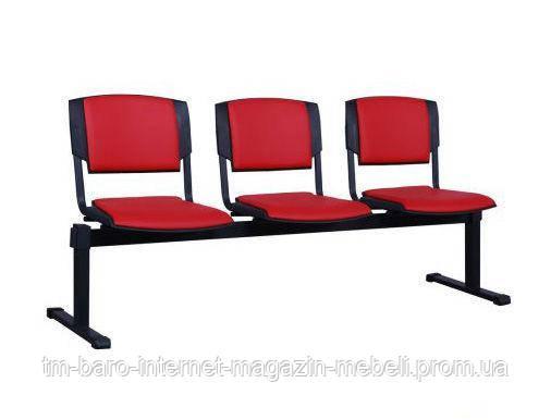 Стул Призма-3 черный Неаполь N-36
