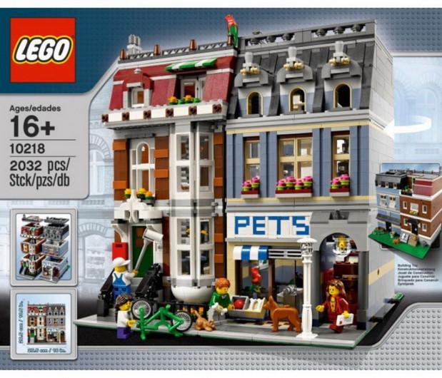 Пластмассовый конструктор LEGO Exclusive Зоомагазин 10218
