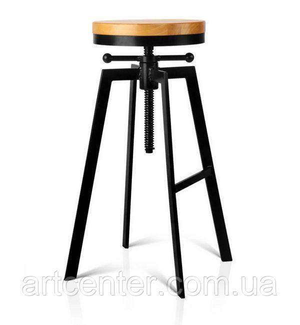 """Стілець для бару з підставкою для ніг, стілець барний, хокер """"ДЕЛІЯ"""""""