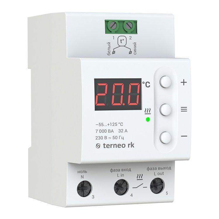 Терморегулятор для котла terneo rk (32 А)
