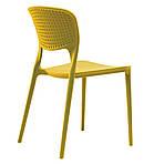 Стул пластиковый Spark (Спарк), желтый карри, Concepto, фото 2