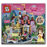 """Конструктор SY 821 """"Заколдованный замок Белль"""" 393 детали, аналог LEGO Disney Princess 41067, фото 1"""