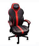 Кресло VR Racer Edge Iron черный/красный, Бесплатная доставка, фото 2