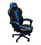 Кресло VR Racer Edge Titan черный/синий, Бесплатная доставка, фото 2
