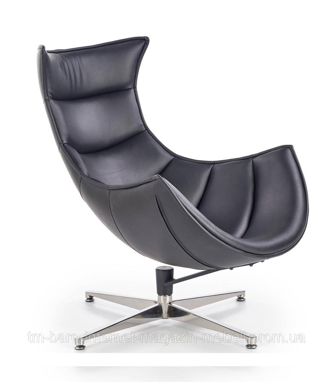 Кресло Luxor (Люксор) черный, Halmar