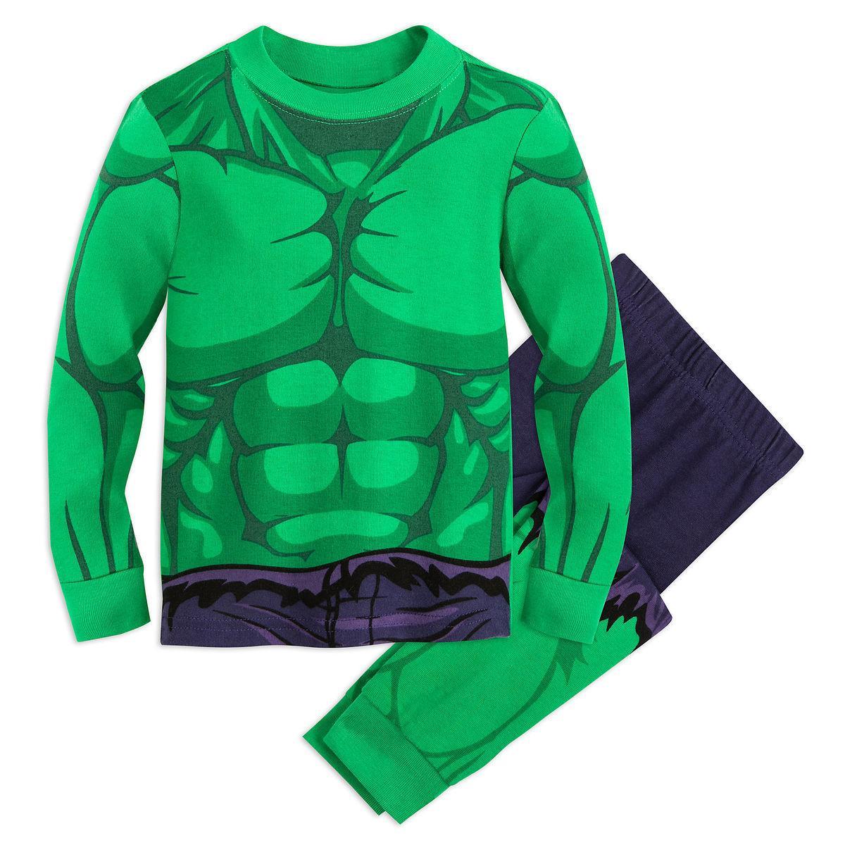 Пижама Дисней ХАЛК для мальчиков 10 лет / Hulk Disney