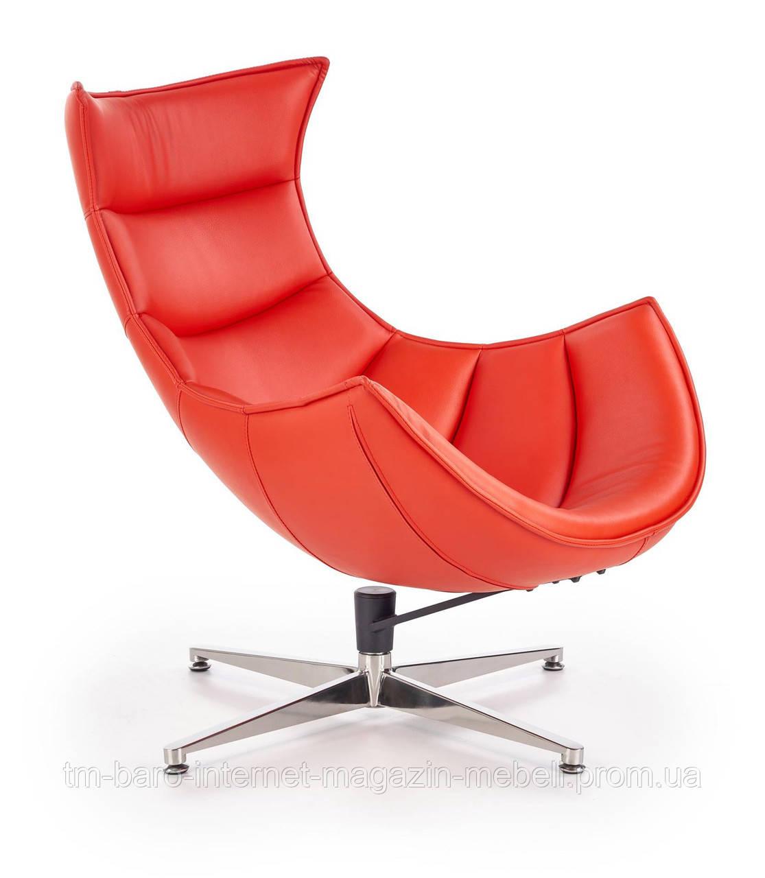 Кресло Luxor (Люксор) красный, Halmar
