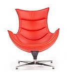 Кресло Luxor (Люксор) красный, Halmar, фото 4