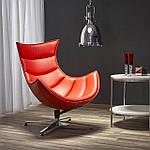 Кресло Luxor (Люксор) красный, Halmar, фото 6